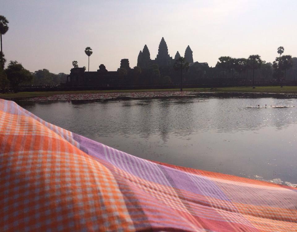 Le krama Sala Baï et Angkor Vat