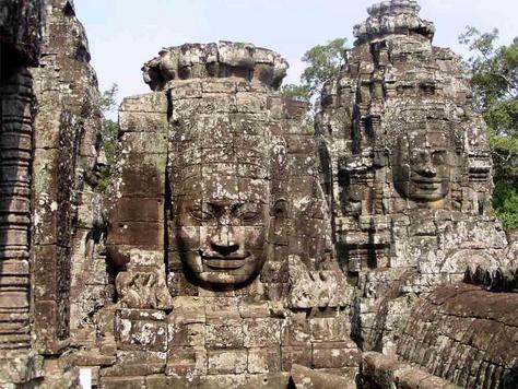 Temple Angkor Vat - région de Siem Reap