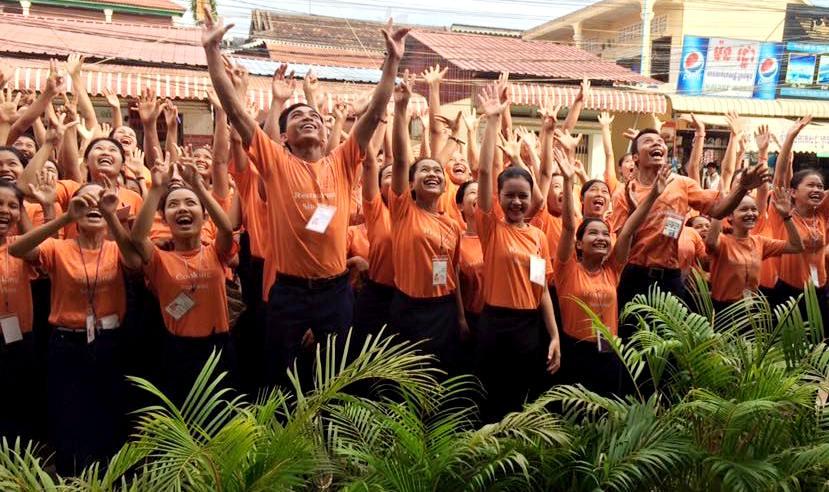 Cambodgiens Sala Bai