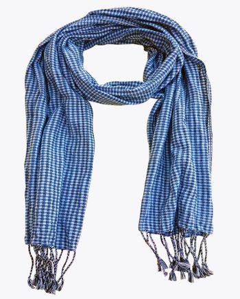 Schal krama blau Cobalt