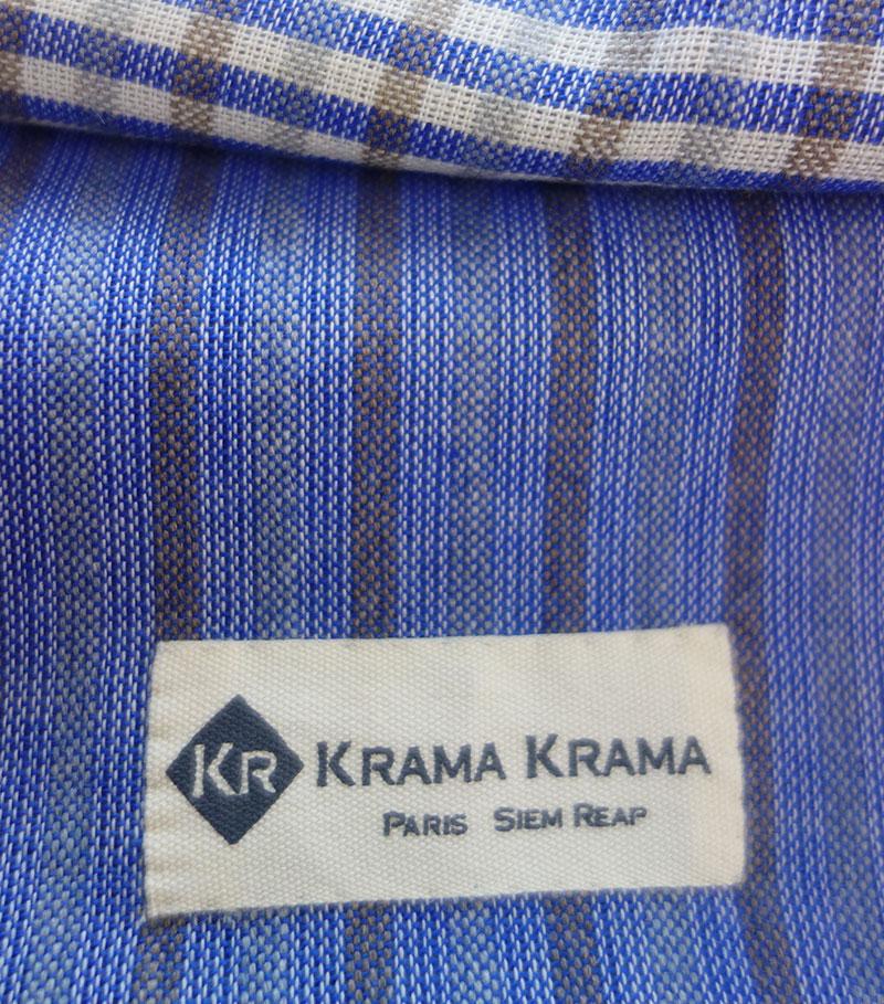 zoom schal krama traditionell königsblaue