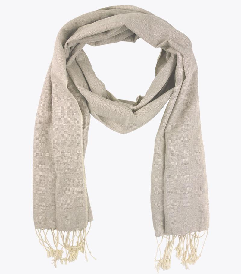 Schal krama leinen jean