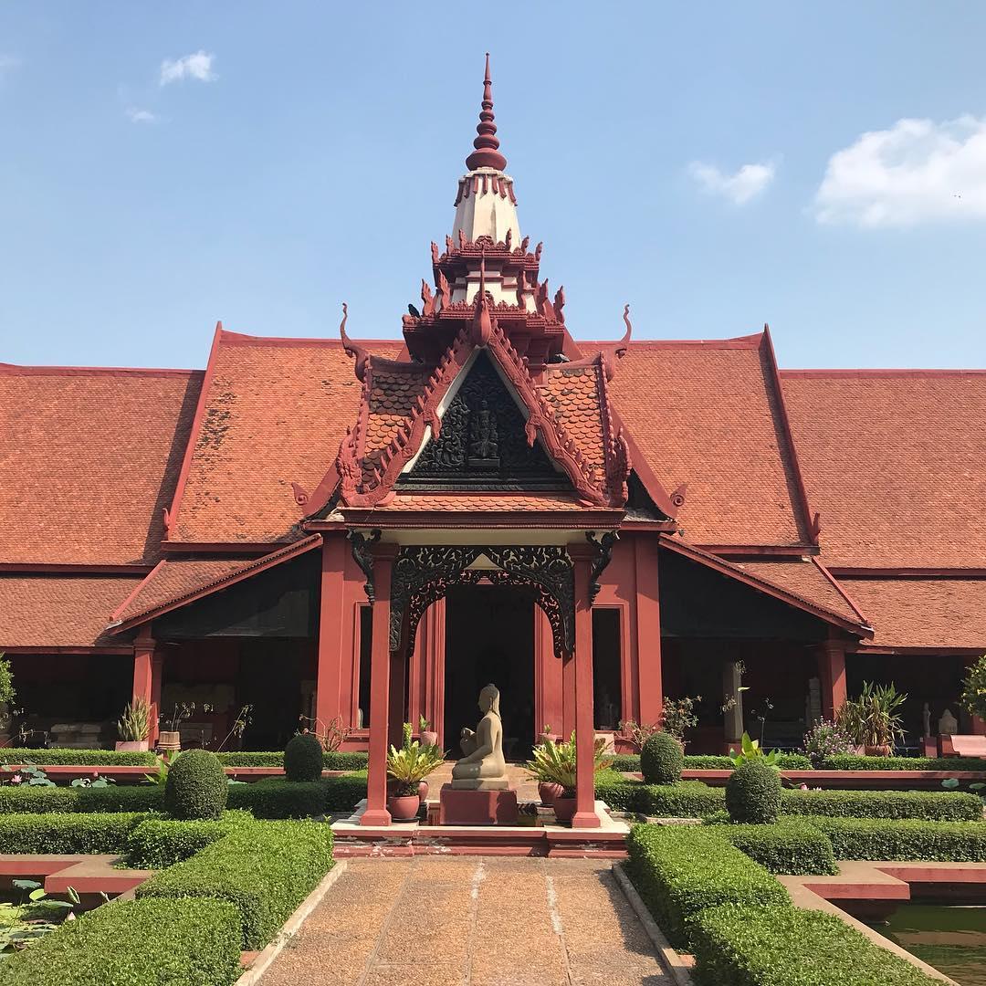 nationalmuseum kambodscha phnom penh