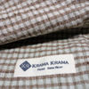 krama natural dye silk copper
