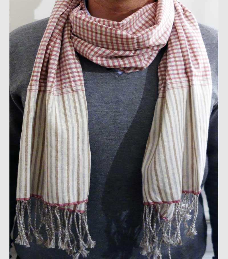 scarf krama pink cambodia