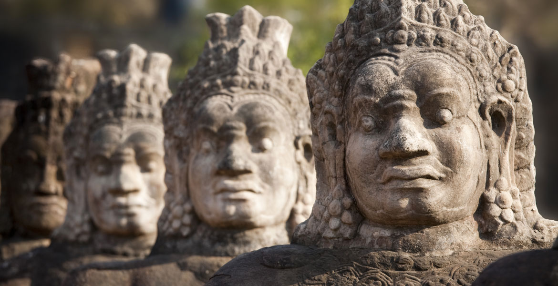 Krama angkor temple cambodia
