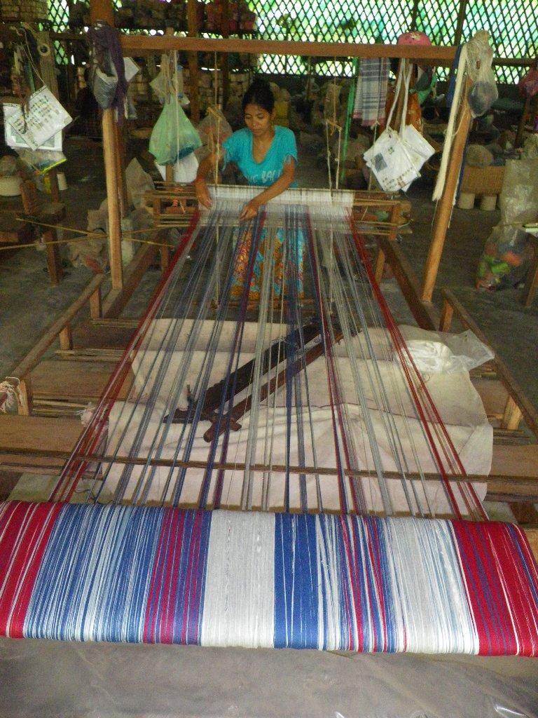 weaving krama french