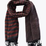 krama scarf orange sokun