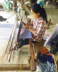 weaver krama sala baï blue