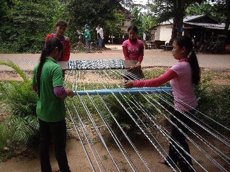 thread weaving