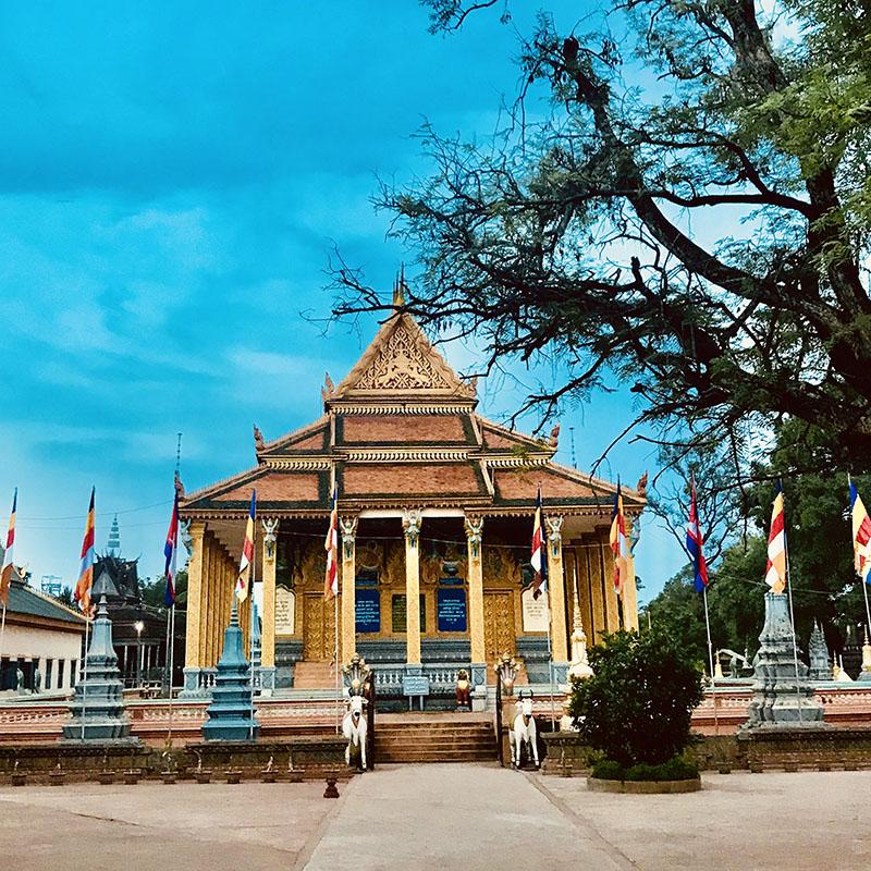 Buddhist temple siem reap