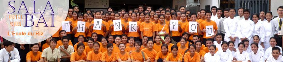 Etudiants école Sala Baï