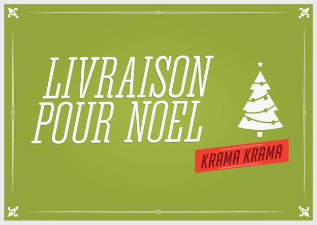 Livraison de votre krama pour Noël