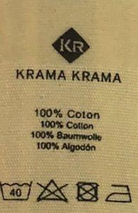 étiquette composition foulard