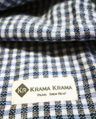 krama bleu outre-mer zoom