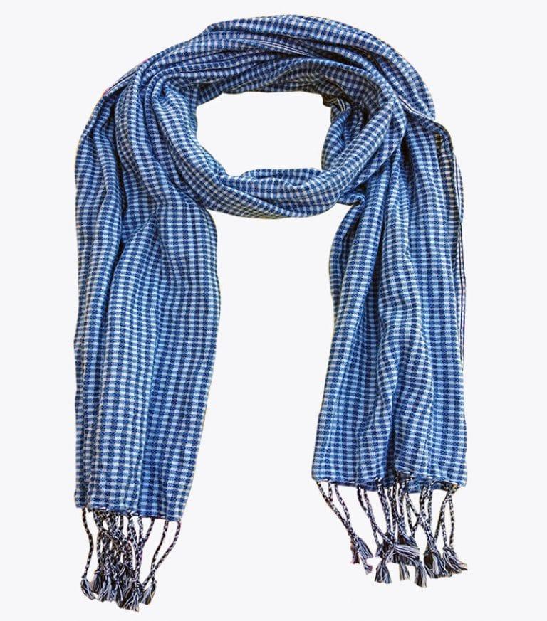 krama bleu cobalt