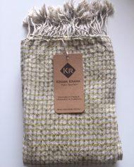 Foulard soie coton Or