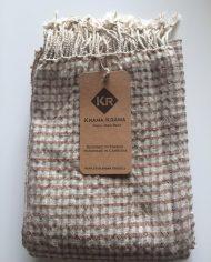 Foulard soie coton Cuivre