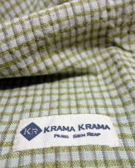 zoom krama en soie Or