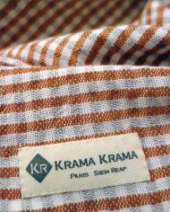 Krama Ta Keo orange