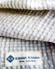 krama soie et cotton