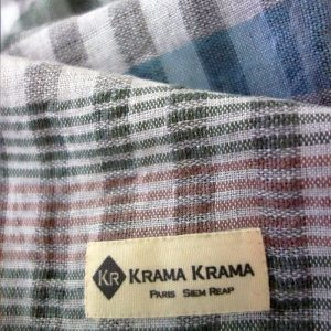 krama pastel étiquette