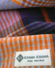 zoom sur le krama sala bai