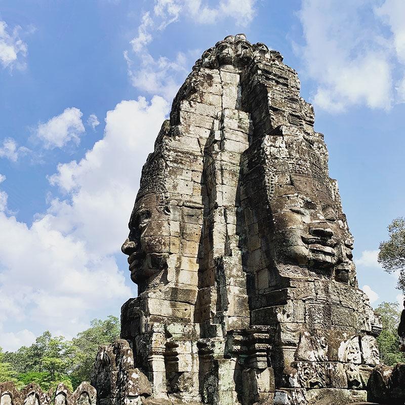 bayon temple cambodge