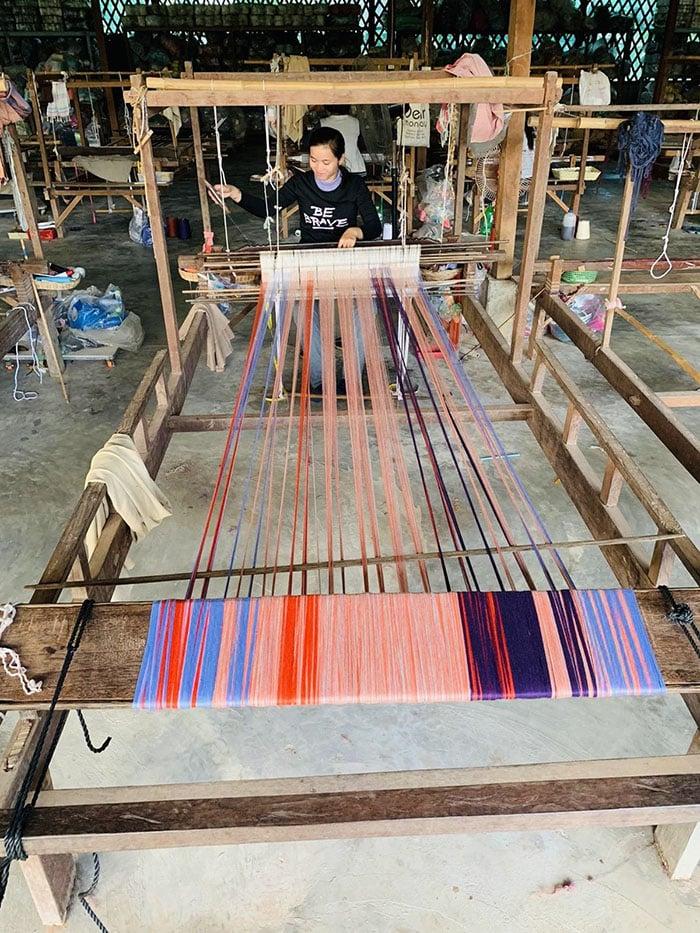 tisserande atelier krama